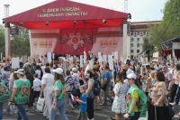 Торжественные шествия 9 Мая в Тюменской области собрали 145 тысяч человек
