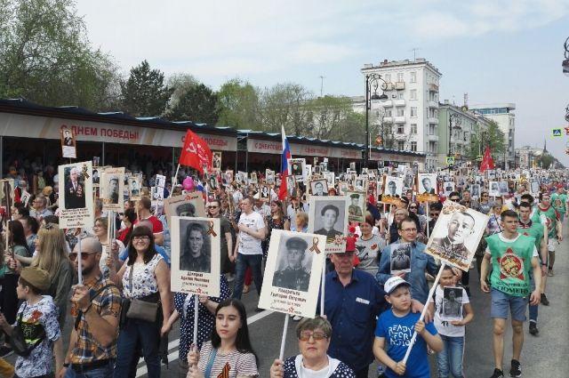 В ряды «Бессмертного полка» встали тысячи тюменцев