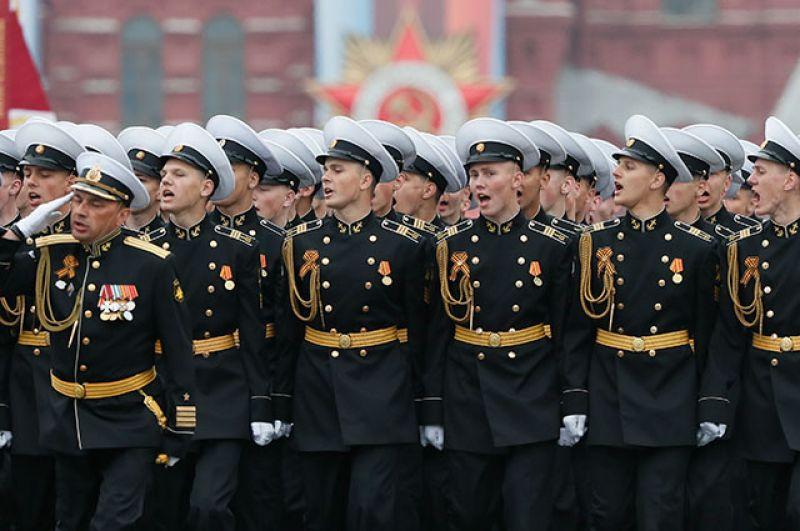 Курсанты Кронштадтского морского кадетского военного корпуса.