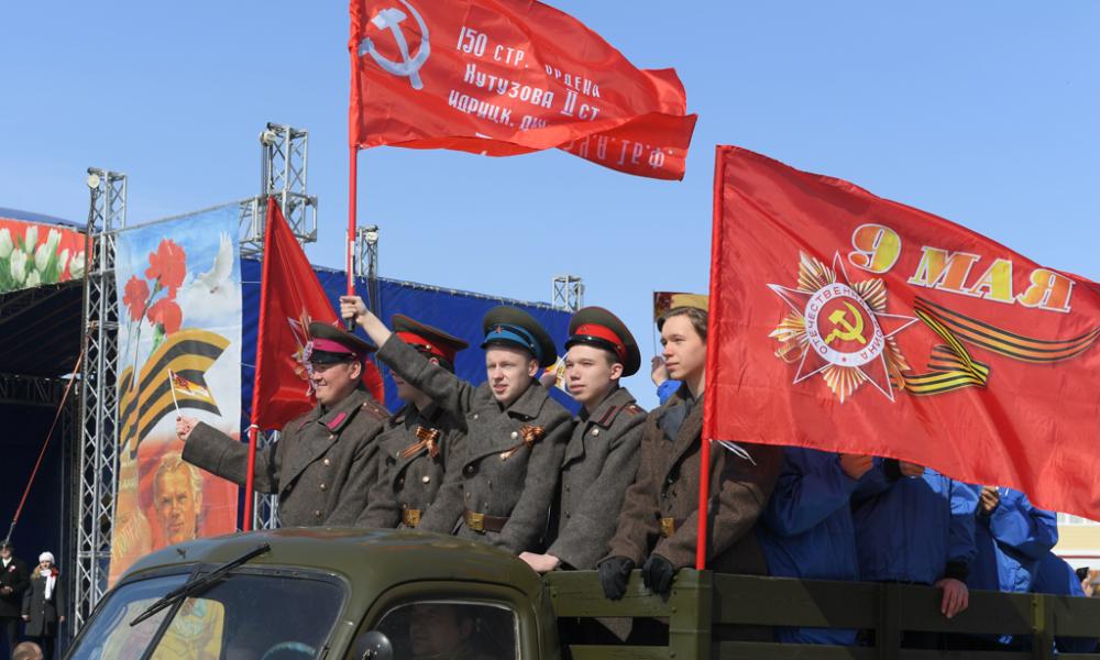 День Победы в Салехарде, 9 мая 2019.
