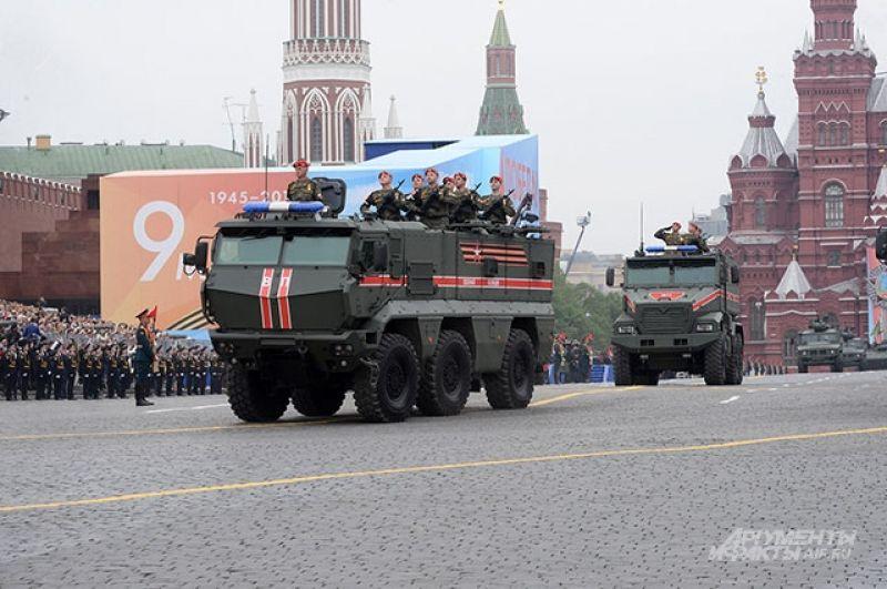 Техника военной полиции — КамАЗ-63969.