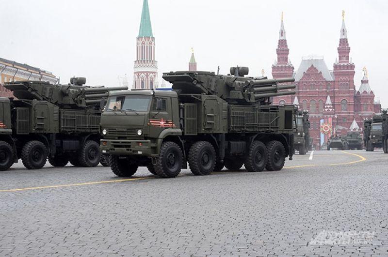 Зенитный ракетно-пушечный комплекс «Панцирь-С».