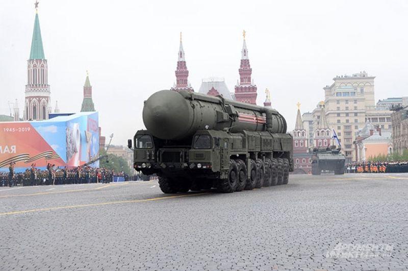 Автономная пусковая установка ПГРК «Ярс».