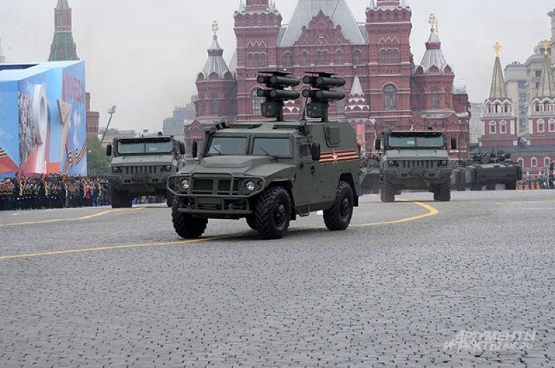 Бронеавтомобиль «Тигр-М» вмодификации СПТРК «Корнет-Д».