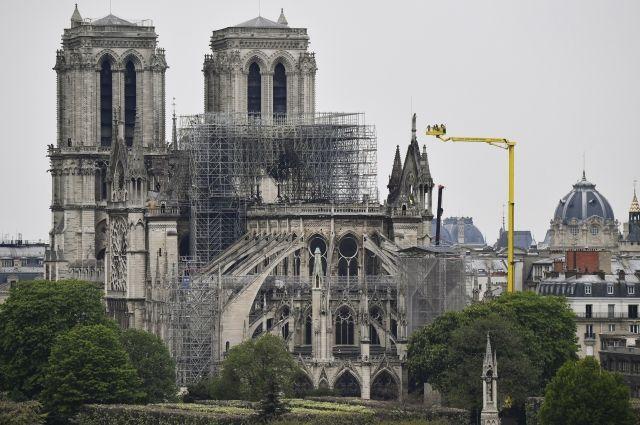 Национальное собрание Франции одобрило законодательный проект  о реконструкции  Нотр-Дама