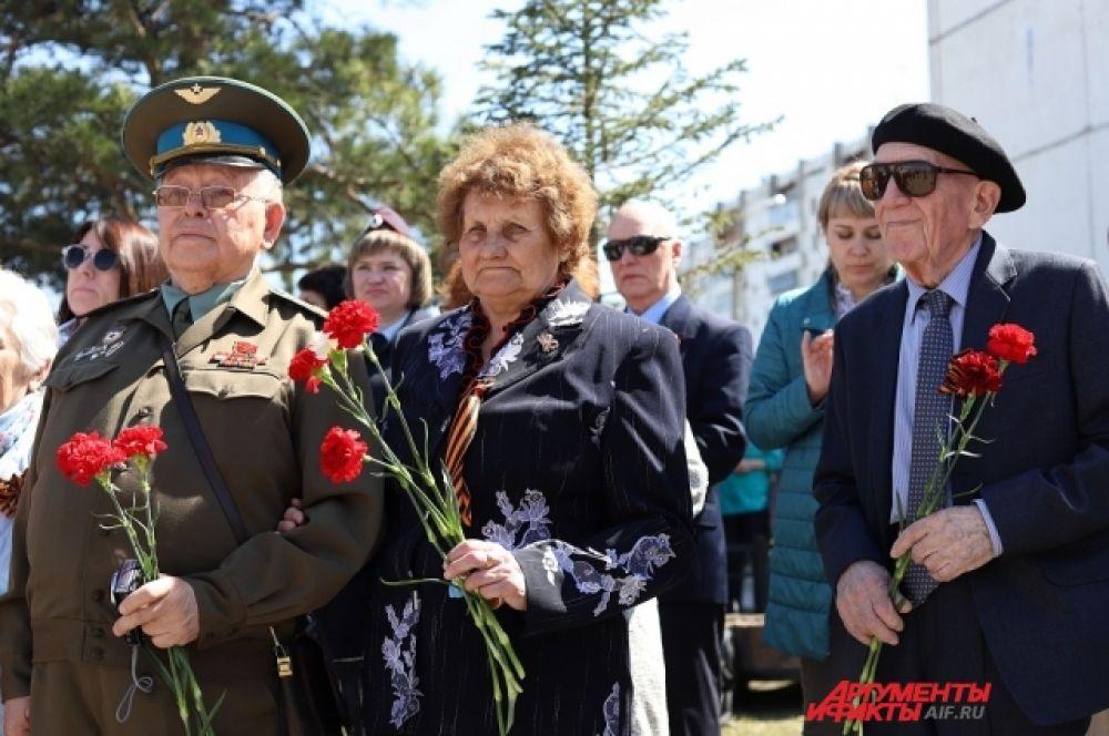 Для ветеранов Великой Отечественной войны был организован прием мэра Иркутска.