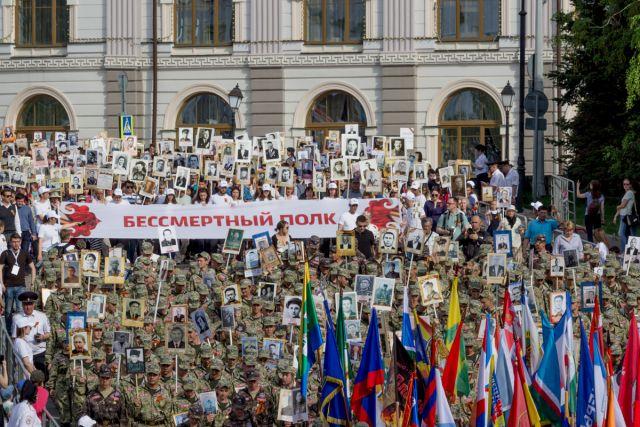 Акция «Бессмертный полк» прошла в 115 странах мира