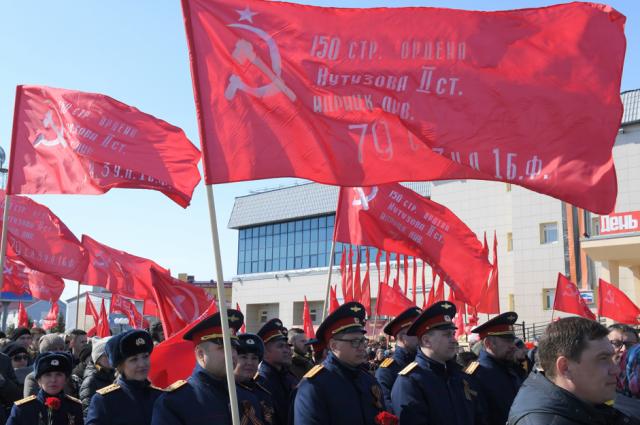 В День Победы жители Салехарда съели 800 кг солдатской каши