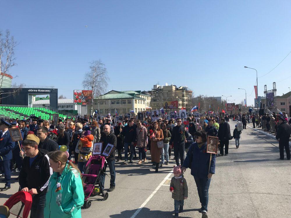 В акции «Бессмертный полк» приняли участие почти 13 500 человек.