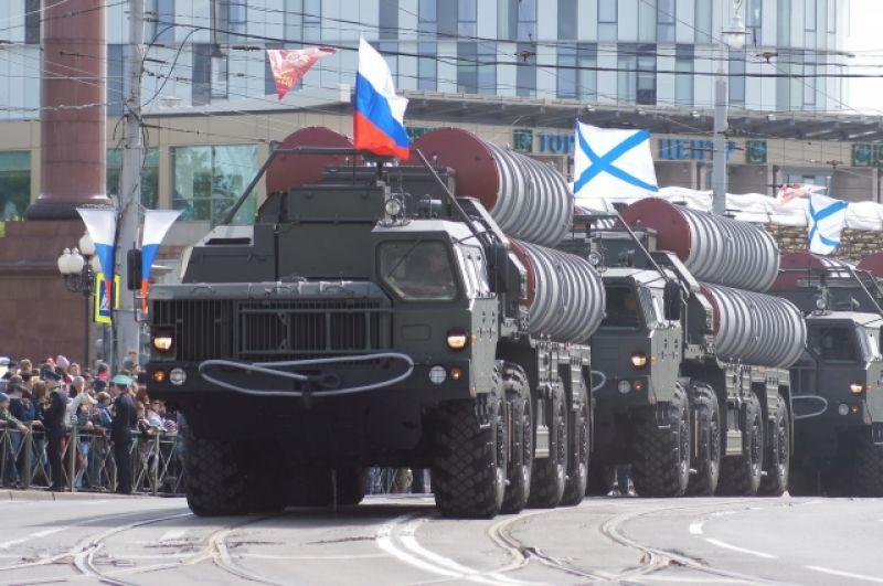 Комплексы «С-400».
