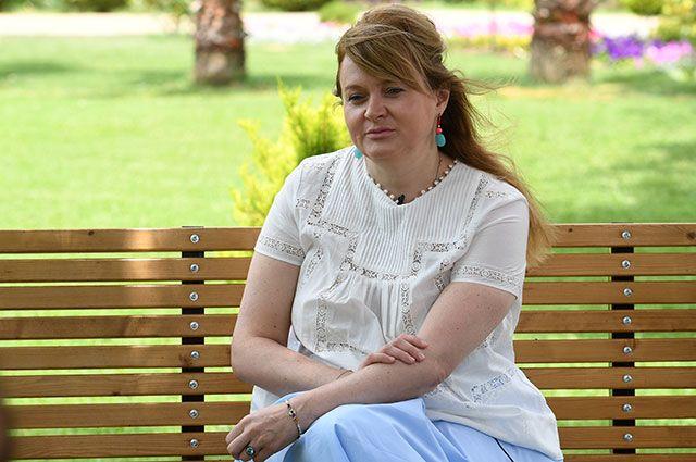 Актриса Анна Михалкова.
