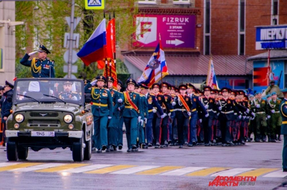 Иркутяне смогли увидеть современную военную технику.