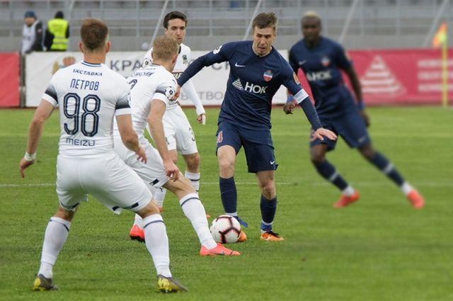 Футболисты «Краснодара» не оставили шансов ФК «Енисею» удержаться в Премьер-лиге.