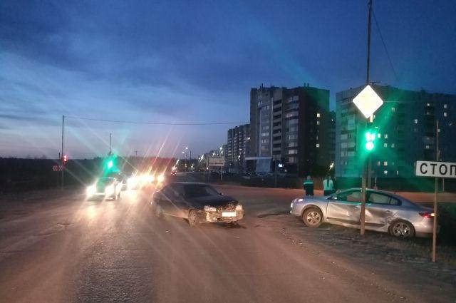 Авария произошла вечером 11 мая в Ухте.