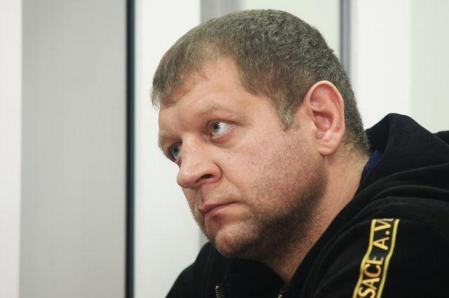 В столице схвачен боец смешанных единоборств Александр Емельяненко
