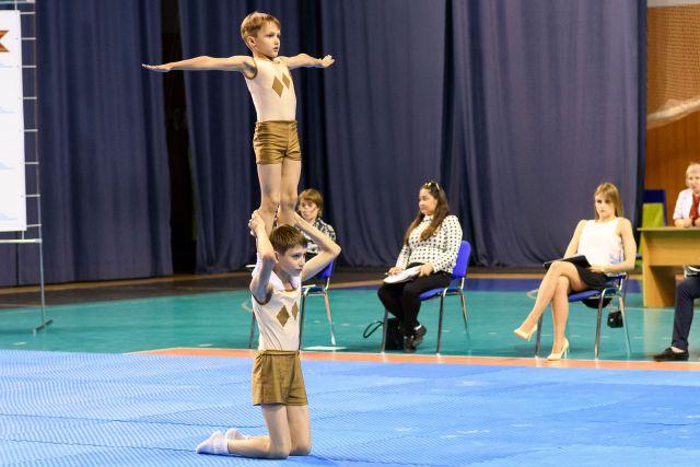 В Оренбурге пройдет чемпионат России по спортивной акробатике