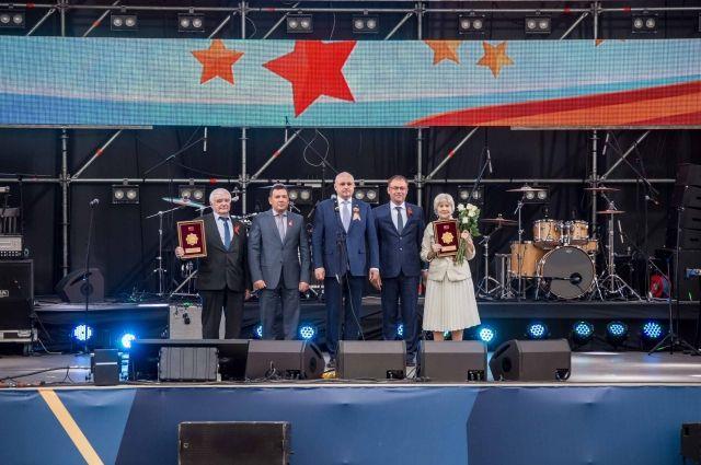 Концерт проходил 11 мая на площади Советов в Кемерове.