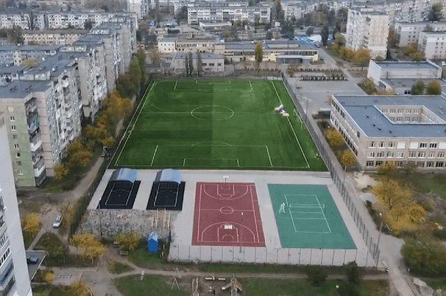 В Полтавской области открыли новый спорткомплекс за 12 миллионов гривен