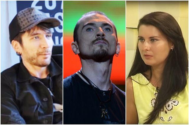 Александр Цой, Игорь Тальков-младший и Ирина Клинских.