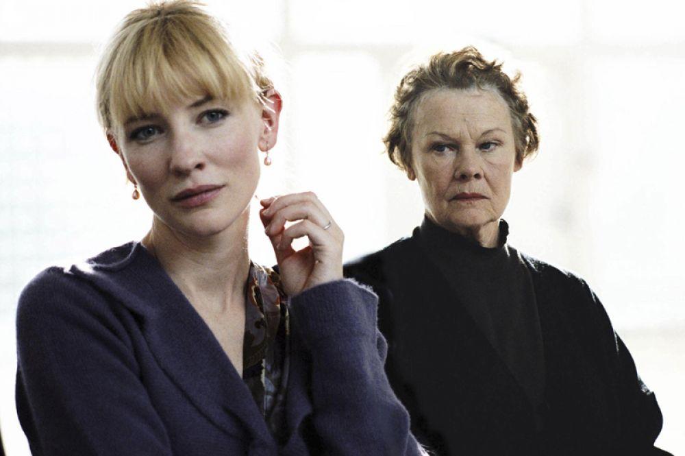 В драме «Скандальный дневник» сыграла преподавательницу, завязавшую роман с учеником.