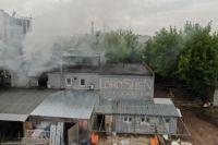 В 09:20 спасателям удалось локализовать возгорание, а в 9:36 пожар ликвидировали.