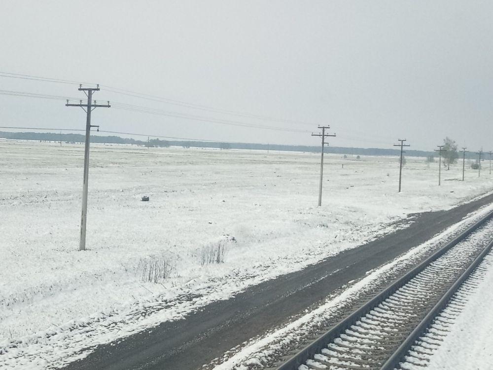 В районе станции Топчиха