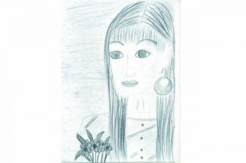 Айтман Алимжанова, 12 лет.