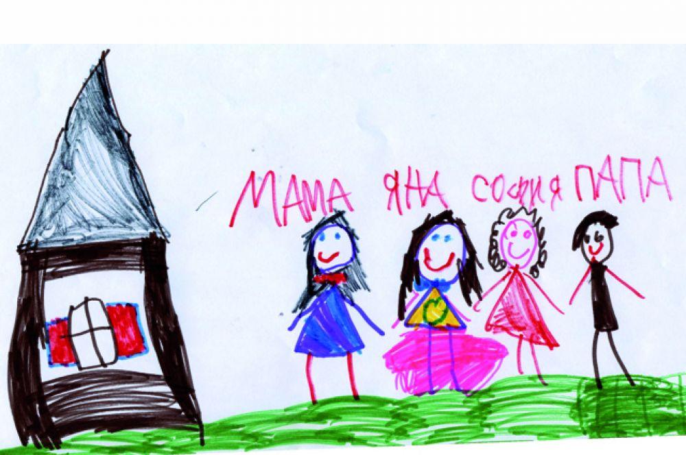 София Буртик, 6 лет.
