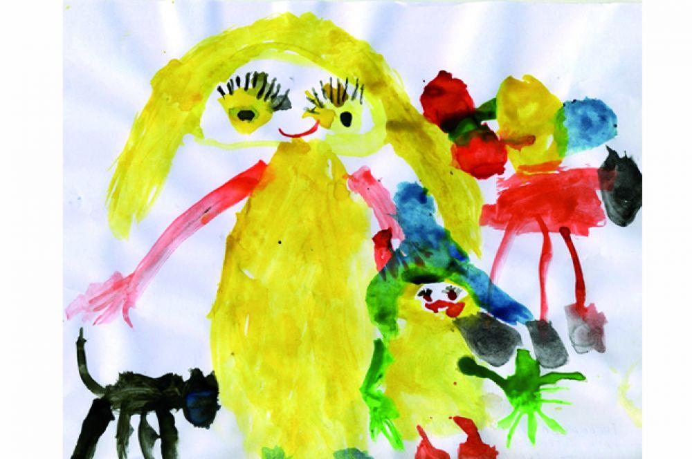 Алиса Гневышева, 4 года.