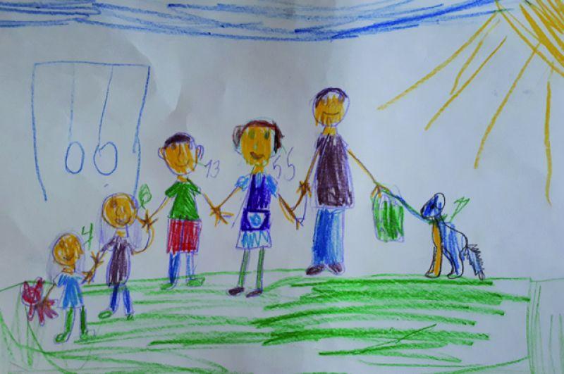Настя Никандрова, 7 лет.