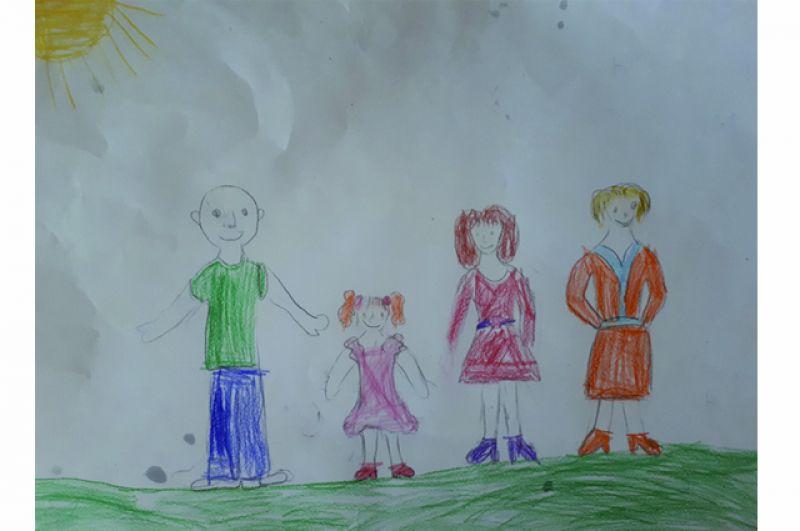 Юля Никитина, 6 лет.