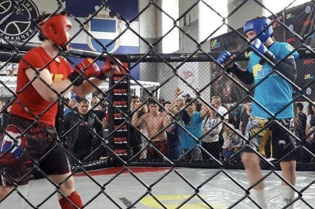 Кременчуге завершился турнир по смешанным боевым искусствам