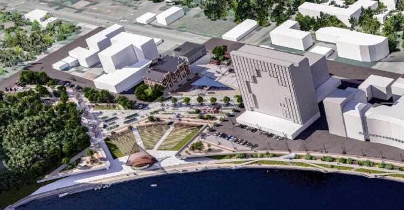 Реконструкция ожидает набережную реки Миасс в центре города