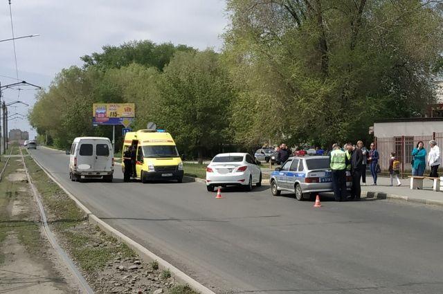 В Орске 11-летнего мальчика на «зебре» сбил водитель Hyundai
