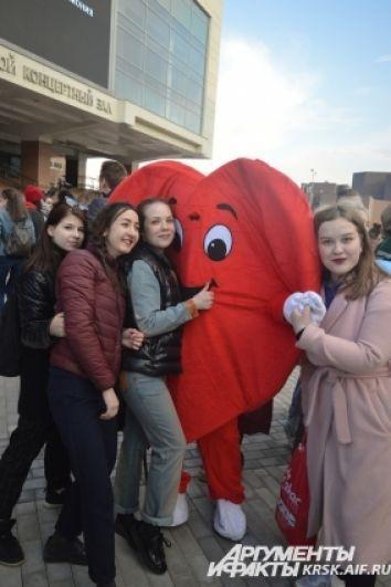 Сердце - как главный символ крепкой семьи.