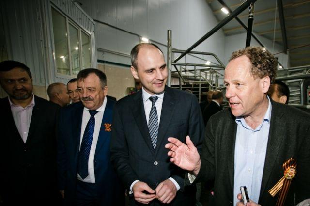 Денис Паслер и Штефан Дюрр обсудили перспективы развития агробизнеса на территории Оренбуржья.
