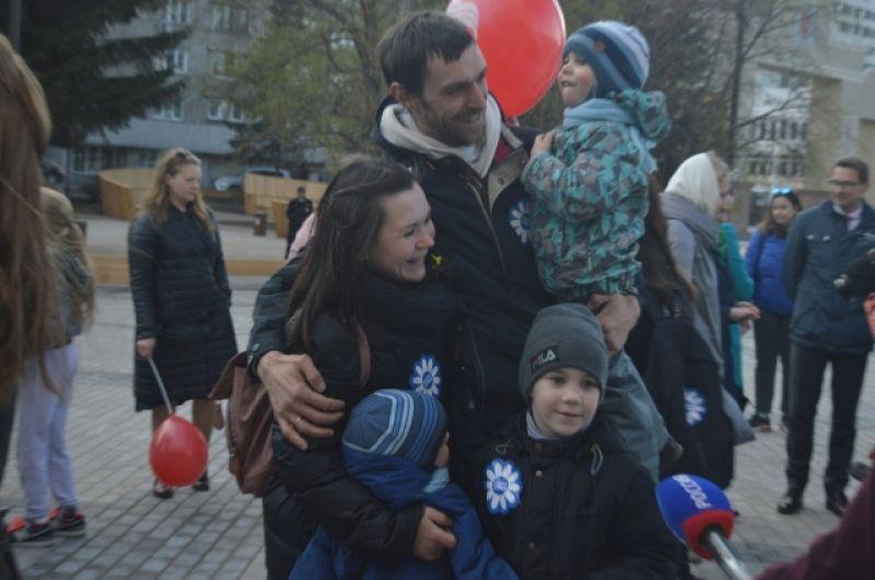 Судя по настроению красноярцев, праздник всем понравился.
