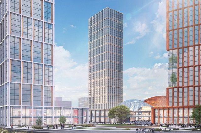 В микрорайоне ДКЖ должны построить торгово-развлекательный центр с концертным залом, торговый и деловой центры, гостиницу и апартаменты.
