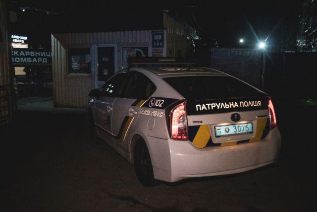 В Закарпатской области полиция остановила автомобили с оружием