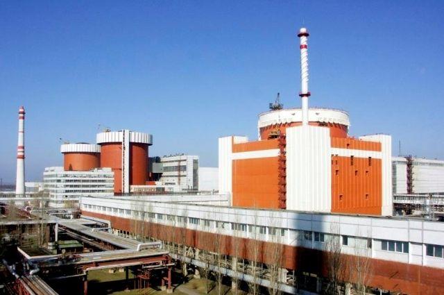 На Южно-Украинской АЭС отключили один из энергоблоков