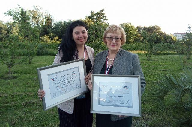 Лауреаты конкурса, журналисты газеты и сайта «АиФ на Енисее».