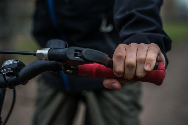 Ямальцы едут на работу на велосипедах