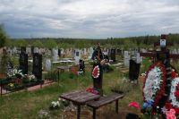 Проблемы с подтоплением на Северном кладбище начались в 2017 году.