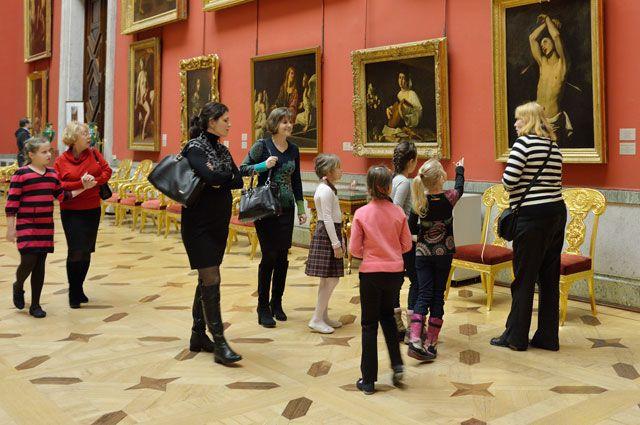 Акция проходит в международный день музеев.