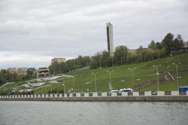 В Ижевске часть набережной станет полностью пешеходной