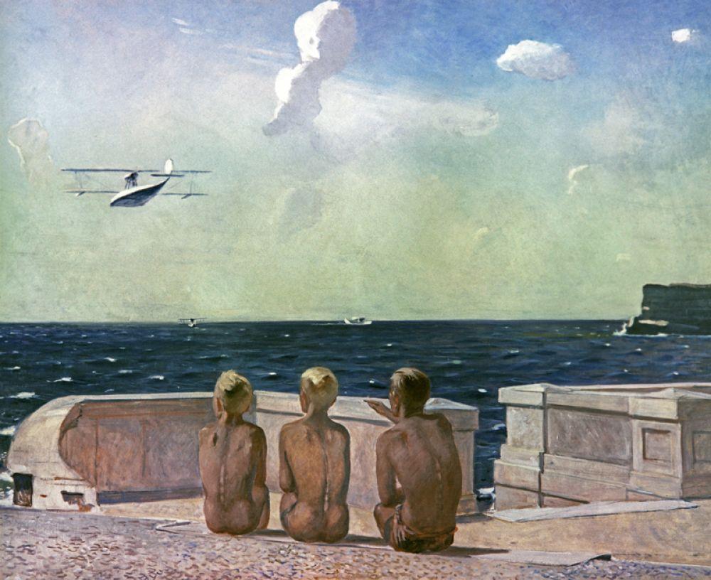 «Будущие лётчики» (1937).