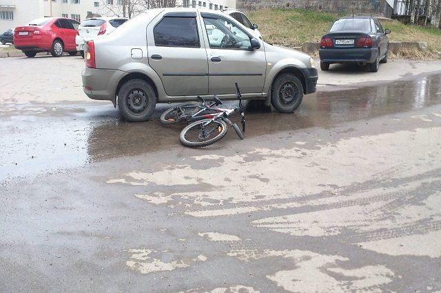 Иномарка сбила подростка в районе дома №24 по проспекту Ленина