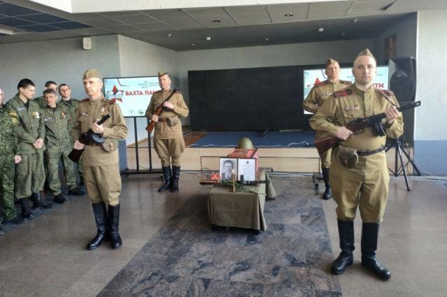 Останки солдата переданы на родину.