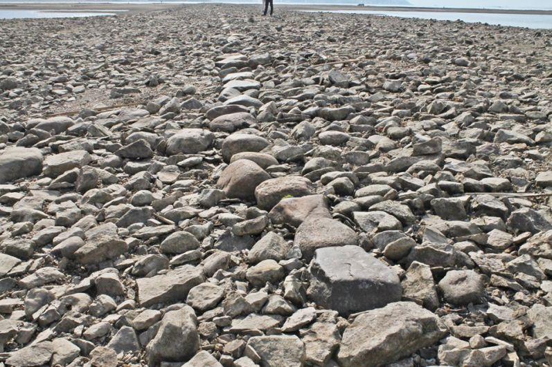 Булыжная мостовая существовала вплоть до затопления этих место при создании Куйбышевского водохранилища.