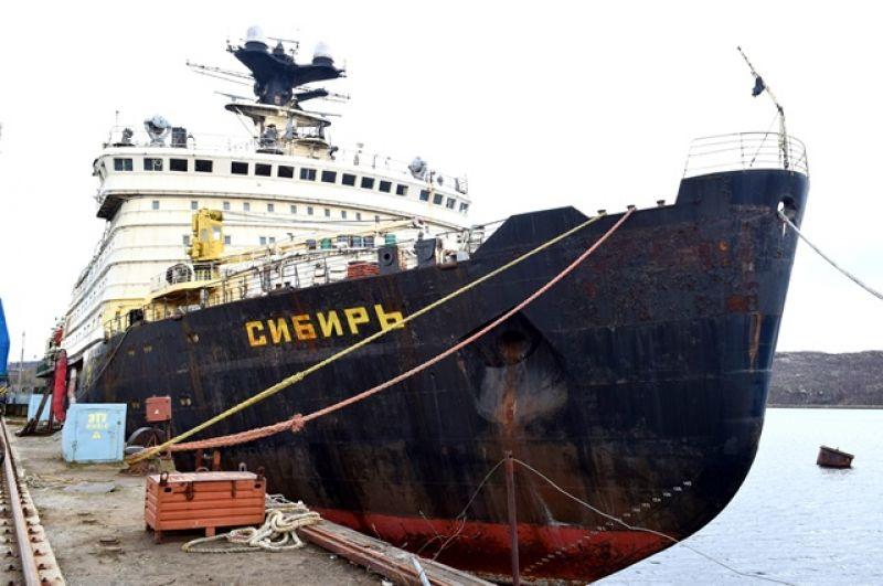 Ледокол «Сибирь» класса «Арктика» был принят в эксплуатацию в 1977 году и работал до 1993 года.
